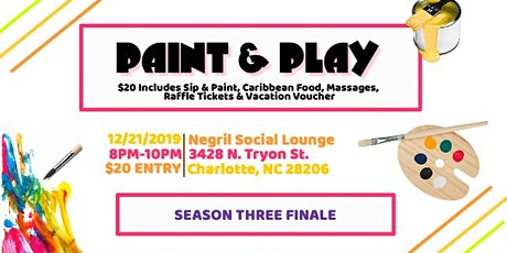 Paint & Play (Season 3 Finale) tickets