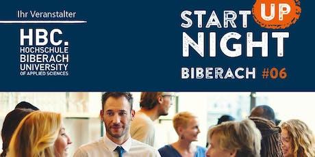 Start-up Night Biberach #06 Tickets