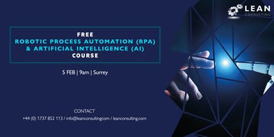 FREE Robotic Process Automation (RPA) & Artificial Intelligence (AI) Course