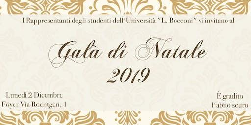 Galà di Natale Bocconi - 2019