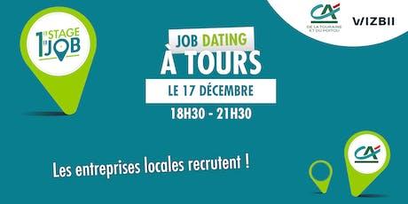 Job Dating Tours : décrochez un emploi dans votre région ! billets