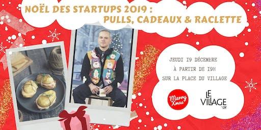 Noël des startups 2019 : pulls, cadeaux & raclette !