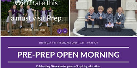 Pre-Prep Open Morning Twickenham Prep School Hampton tickets