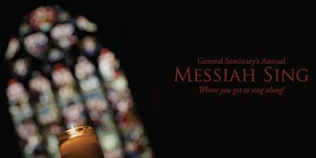 Messiah Sing 2019  tickets