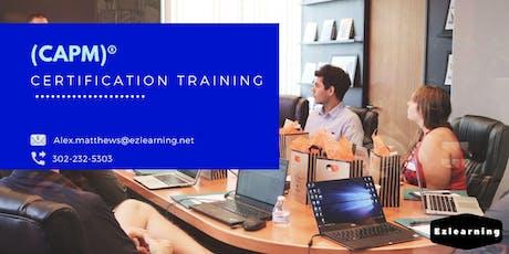 CAPM Certification Training in Wheeling, WV tickets
