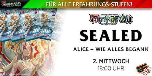 "Force of Will: Sealed ""Alice - Wie alles begann"""