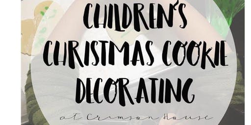 CHILDREN'S CHRISTMAS COOKIE DECORATING CLASS