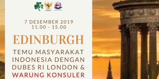 Pertemuan Masyarakat Bersama Dubes RI & Warung Konsuler