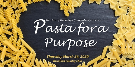 Pasta for a Purpose