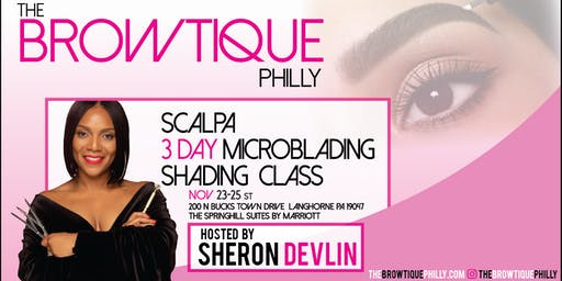 Scalpa Microblading & Shading Training December 14th-16th