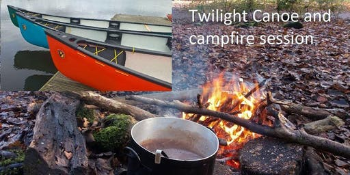 Twilight Canoe and Campfire Session