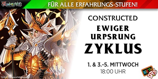 """Force of Will: Constructed """"Ewiger Ursprung Zyklus"""""""