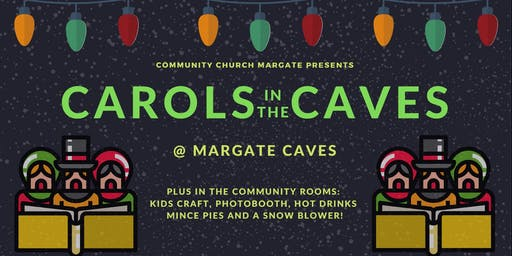 Carols in the Caves: 1pm service