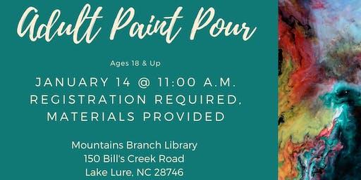 Adult Paint Pour