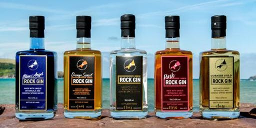 Cornish Rock Gin Tasting - Friday December 13th 2019
