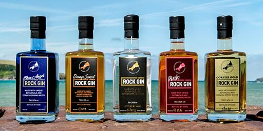 Cornish Rock Gin Tasting - Friday December 13th 2019