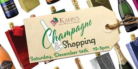 Champagne & Shopping tickets
