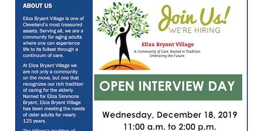 Eliza Bryant Village Open Interview Day