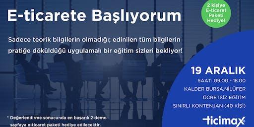 E-Ticarete Başlıyorum - Bursa