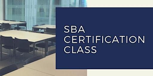 SBA Certification Class