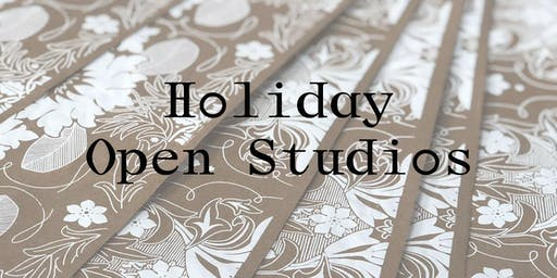 Open Studio Day: Print your own Wrapping Paper & Holiday Cards