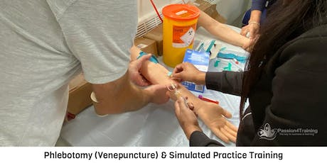 Phlebotomy (Venepuncture) & Simulated Practice Training - 07/01/2020 tickets