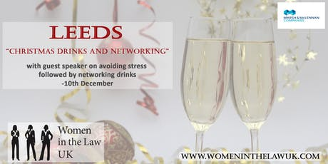 LEEDS - Christmas Drinks 2019 and Networking with Guest Speakers tickets