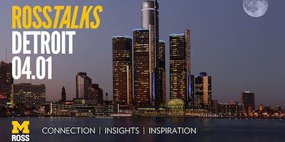 RossTalks Detroit
