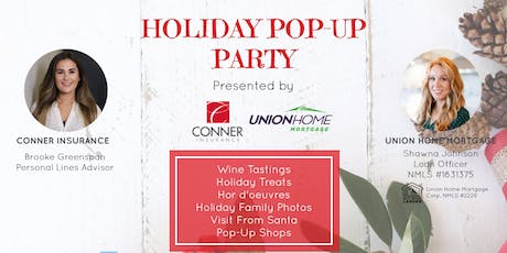 Holiday Pop-Up Party tickets