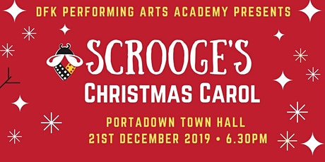 Scrooge's Christmas Carol tickets