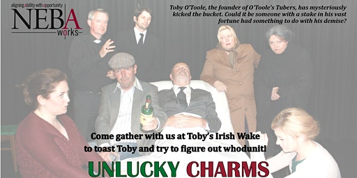Unlucky Charms Irish Wake Murder Mystery Dinner and Show