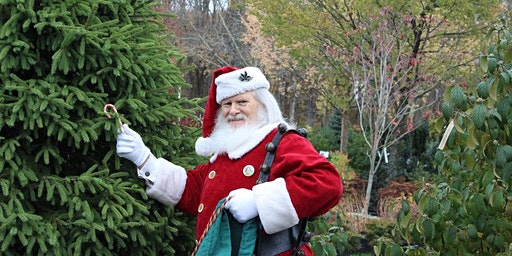 Santa visits Kale's Garden Center