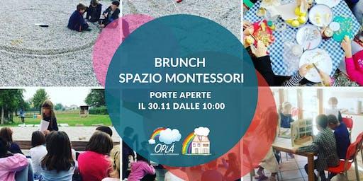 Brunch Spazio Montessori: Open Day primaria + attività bambini e adulti