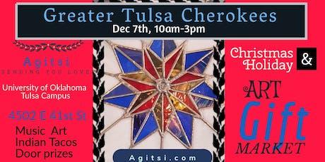 Greater Tulsa Cherokees Art Market with Agitsi tickets