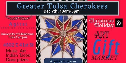 Greater Tulsa Cherokees Art Market with Agitsi