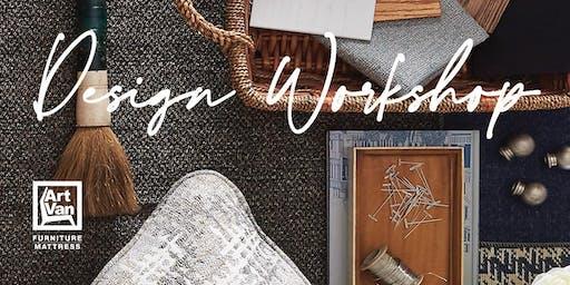 Art Van Design Workshop: How to Design a Room You Love