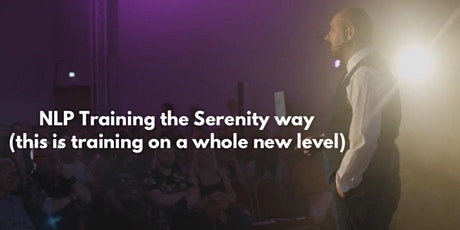NLP Training The Serenity By Kevin way. tickets