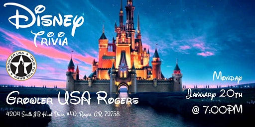 Disney Trivia at Growler USA Rogers