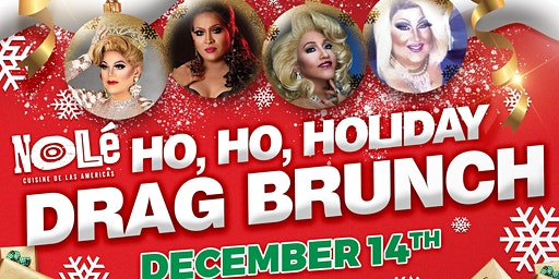 Ho, Ho Holiday Drag Brunch!
