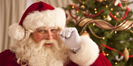Santa at Naas Lawn Tennis Club - €10 per child