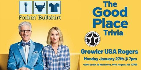 The Good Place Trivia at Growler USA Rogers tickets