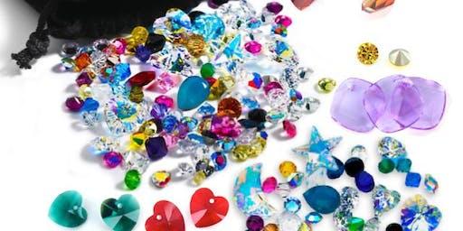 Neal's Yard Goodie Bag and Crystal Beads Earring Workshop