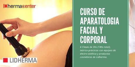 Curso de Aparatología Facial y Corporal Enero entradas