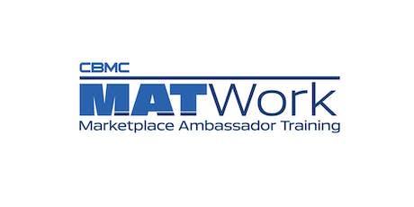 MAT Work - Marketplace Ambassador Training with Joe DiRocco tickets