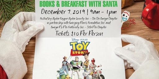 Books and Breakfast with Santa