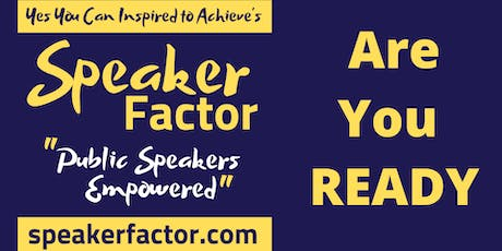 Yes You Can Inspired to Achieve Speakers Awards and Networking Event 2020 tickets