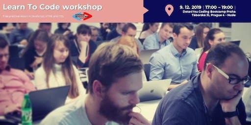 Learn to Code / Nauč se programovat - Workshop