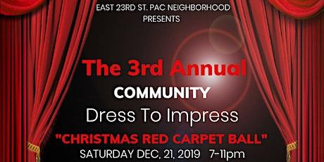 "Community Red Carpet ""Dress to Impress"" tickets"