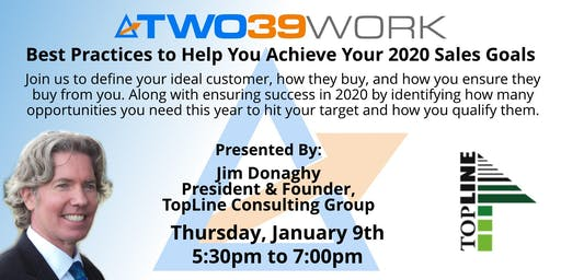 TopLine Consulting: Best Practices to Help You Achieve Your 2020 Sales Goals