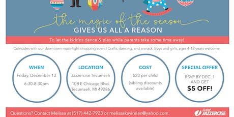 Junior Jazzercise Holiday Camp tickets